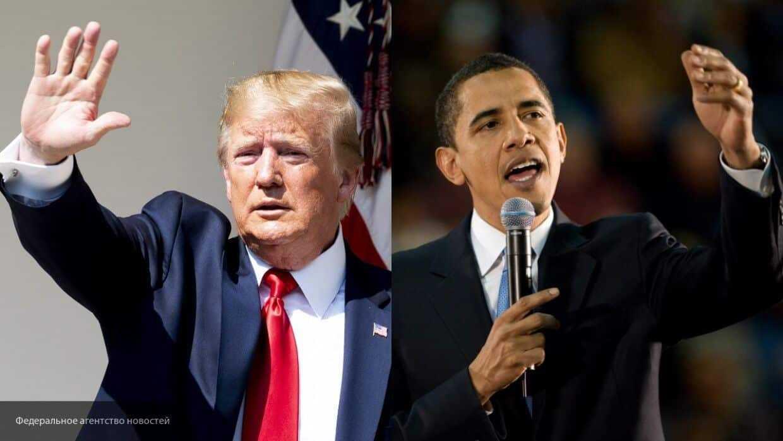 Трамп обвинил Обаму в шпионаже во время предвыборной кампании