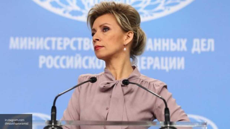 Захарова ответила на выпады грузинского журналиста Габунии словами Лаврова