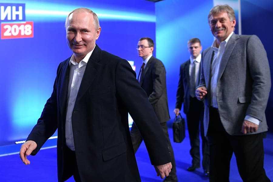 Песков отметил постоянную сменяемость власти в России