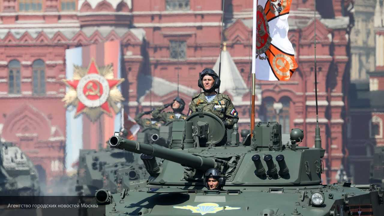Москва принимает военный парад на Красной площади в честь 75-летия Победы в ВОВ