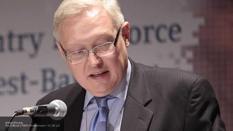 Рябков и Биллингсли обсудят вопросы контроля вооружений РФ и США
