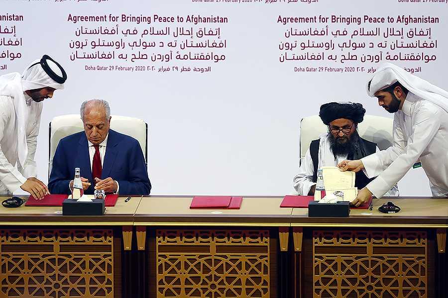 США заключили мир с «Талибаном»
