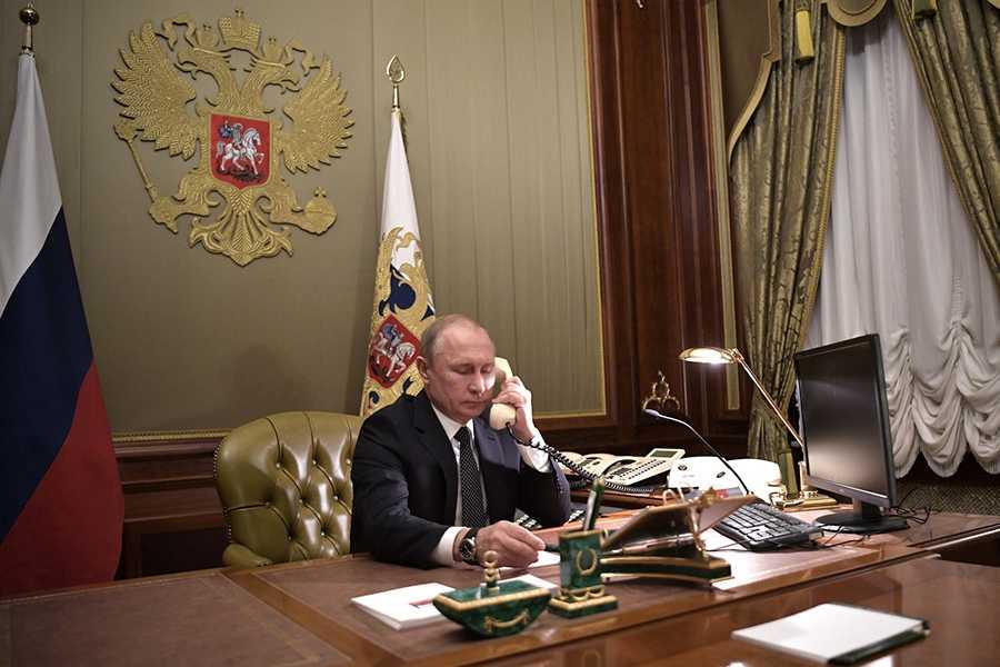 Путин обсудил с Эрдоганом возобновление авиасообщения