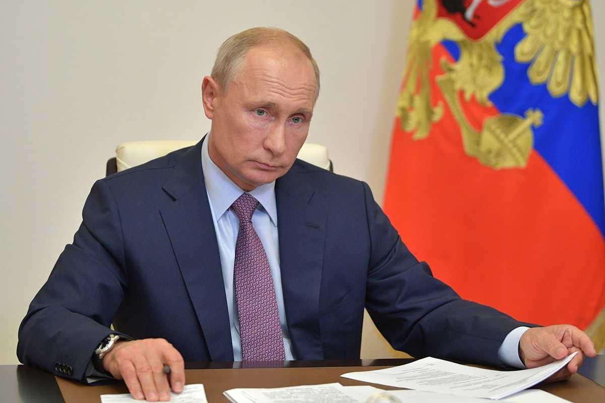 Путин подписал указ об изменении Конституции